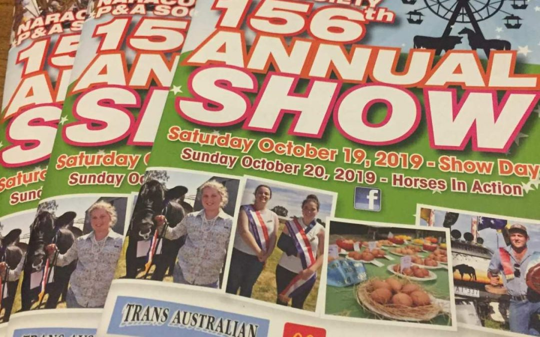Naracoorte's 156th Annual Show 2019